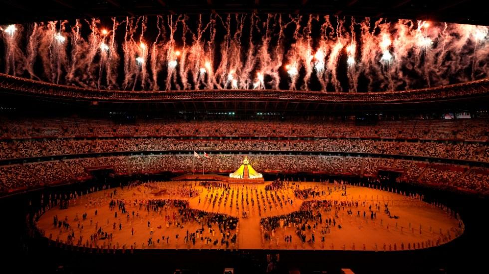 ¡Arde la llama en Tokio! Así fue la espectacular inauguración de los Juegos Olímpicos - Pebetero Tokio 2020 inauguración