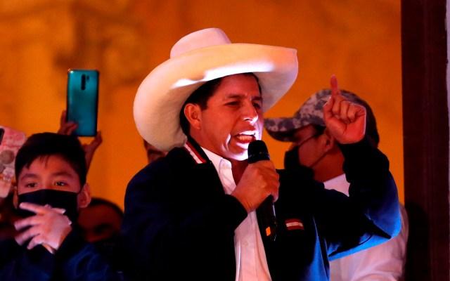 Pedro Castillo, el primer presidente de Perú surgido lejos de sus élites - Pedro Castillo, presidente electo de Perú. Foto de EFE