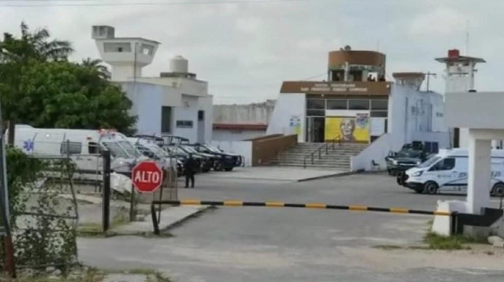 Motín en penal de Campeche deja cinco lesionados - Motín en penal de Campeche deja cinco lesionados. Foto de ForoTV