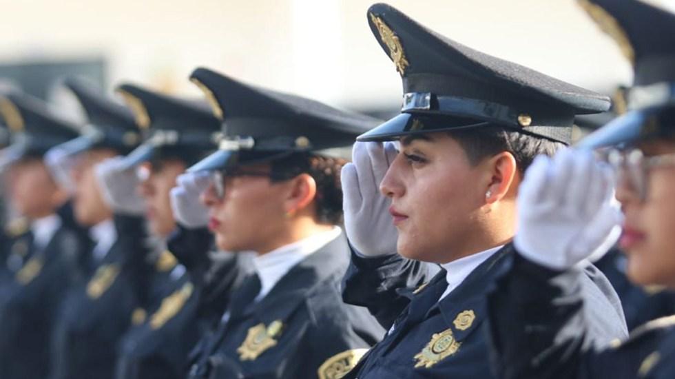 Primer semestre de 2021, con el número más bajo de homicidios en CDMX en lo que va del sexenio de Sheinbaum - Policías capitalinos. Foto de @PoliciaCDMX