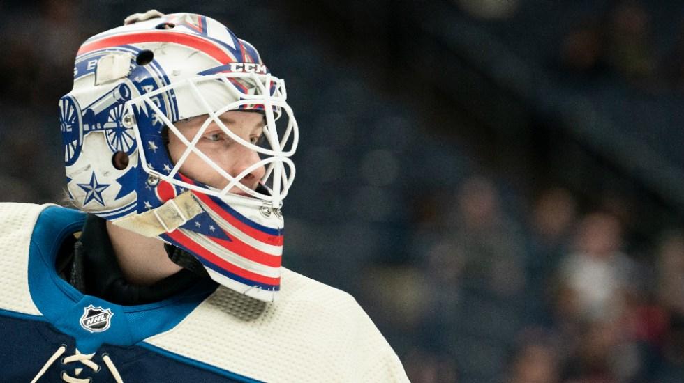 Portero de hockey murió por explosión de fuegos artificiales - Portero Matiss Kivlenieks NHL