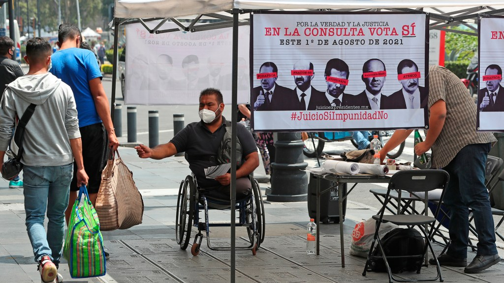 """Consulta Popular sobre expresidentes """"preguntará lo único que se puede preguntar"""": INE - consulta popular"""