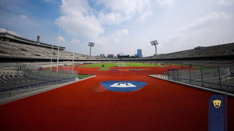 Debut de Pumas en el A2021 será a puerta cerrada - Miguel Mejía Barón Pumas Estadio Olímpico CU