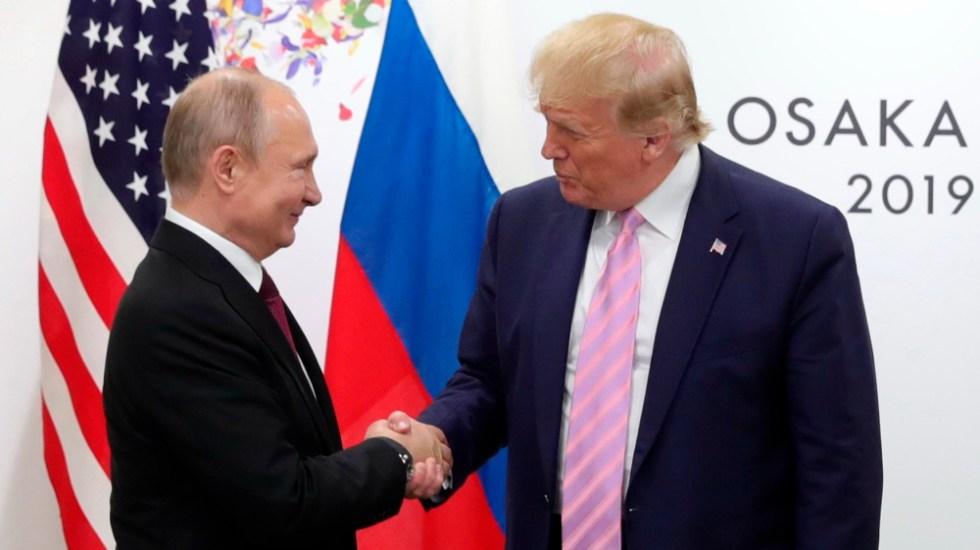 Documentos sugieren que Putin interfirió para llevar a Trump al poder - Putin Trump