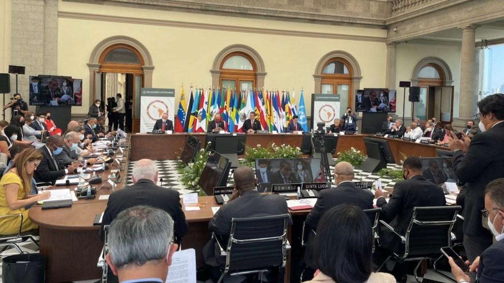 México busca liderazgo en América Latina pese a dar la espalda a la OEA - Celac se reúne en México; pandemia, el tema central del encuentro. Foto de Twitter @PPT_CELAC