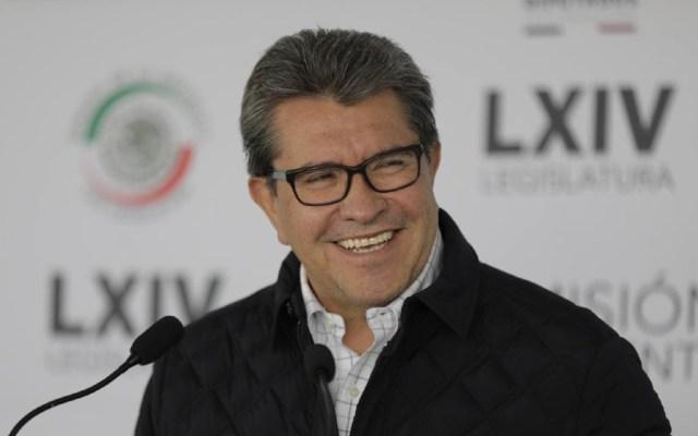 Monreal pide transparentar selección de candidato presidencial en Morena - Ricardo Monreal