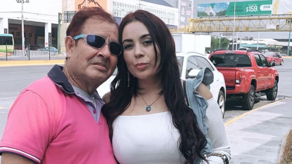 """Lo llevé a la fuerza"" a un médico, revela novia de Sammy Pérez - Sammy Pérez pareja novia"