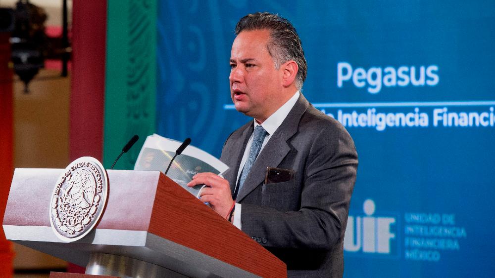 Caso Pegasus será investigado por FGR, SAT y SFP, revela Santiago Nieto - Santiago Nieto