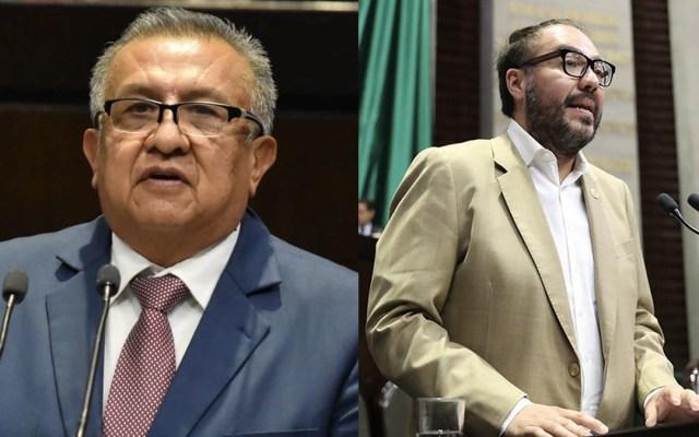 Condena Fiscalía capitalina remover desafueros de Huerta y Toledo de periodo extraordinario - Fiscalía Saúl Huerta y Mauricio Toledo