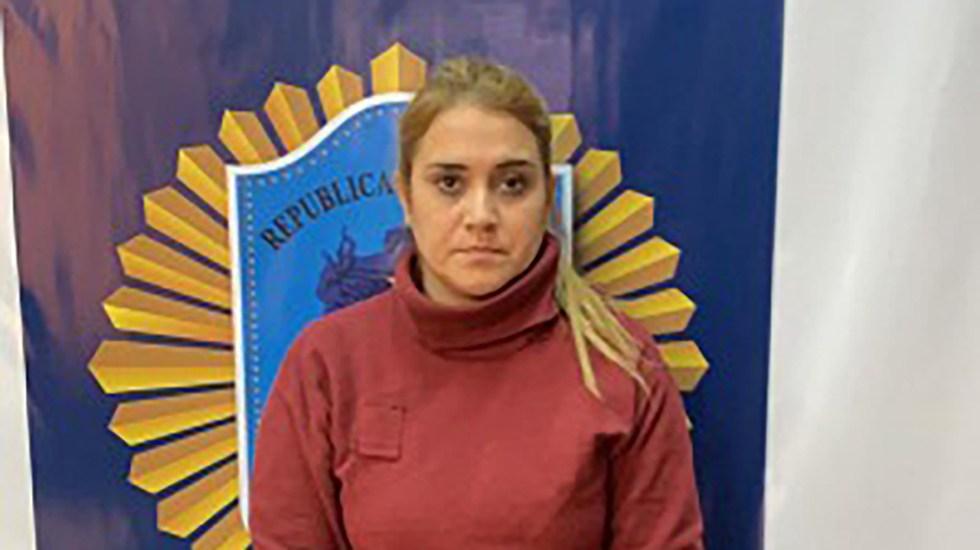 Dan cadena perpetua a expolicía que mató a ancianos para pagar viaje a Disney World - Expolicía Sonia Rebeca Soloaga. Foto de Policía Federal Argentina