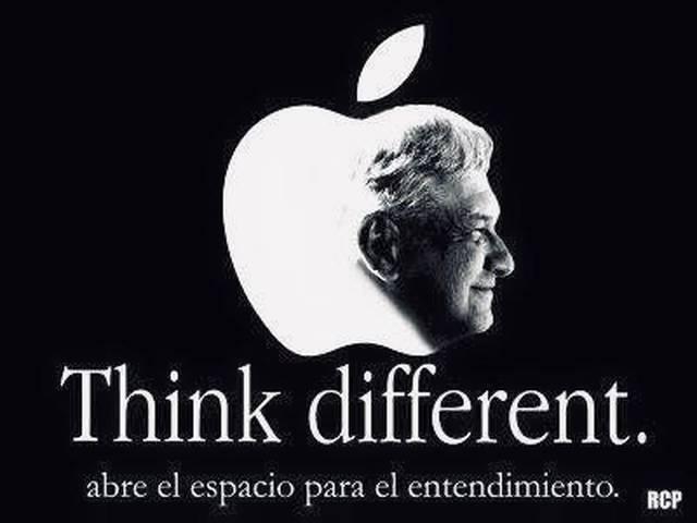 Think Different AMLO López Obrador