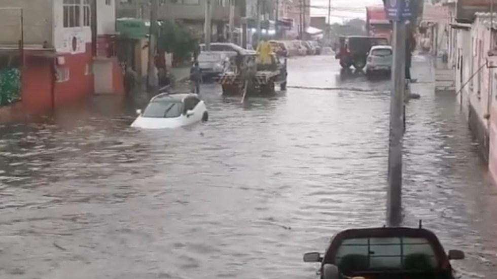 #Videos Lluvia ocasiona inundaciones en la alcaldía Tlalpan - Tlalpan lluvia inundaciones CDMX