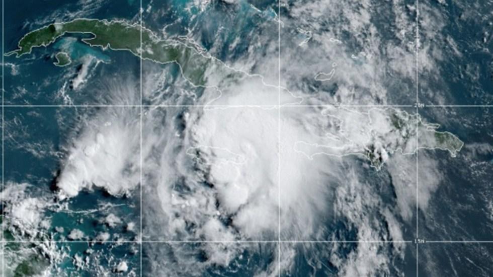 Cuba vuelve a la normalidad tras el paso de Elsa - Tormenta tropical Elsa. Foto de NOAA / GOES