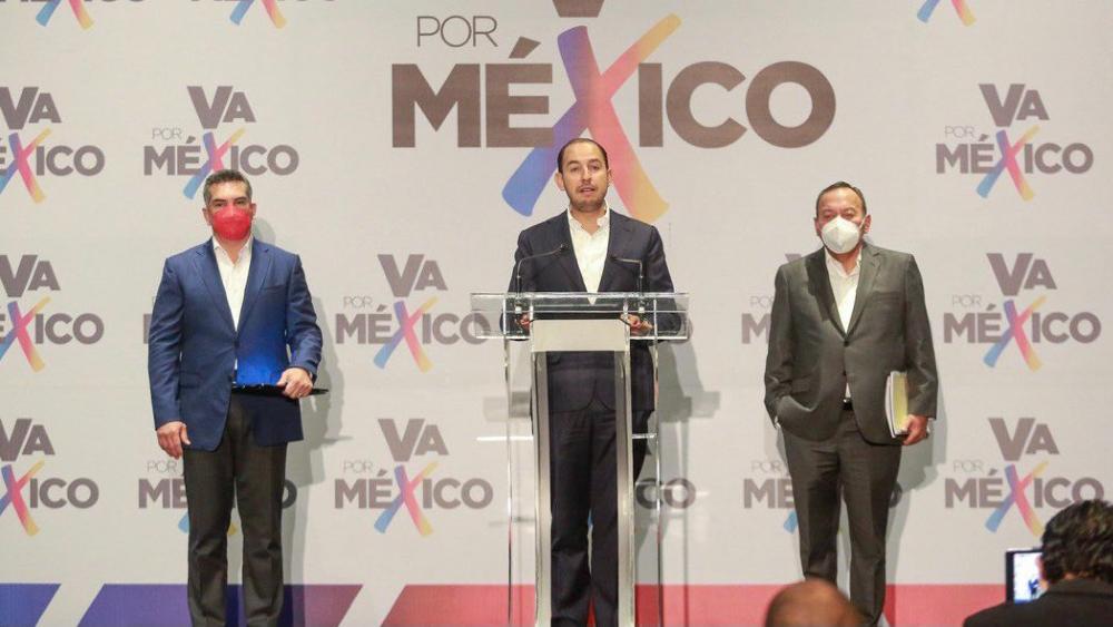 Va por México busca anular elecciones a gobernador en 4 estados - Va por México PAN PRI PRD