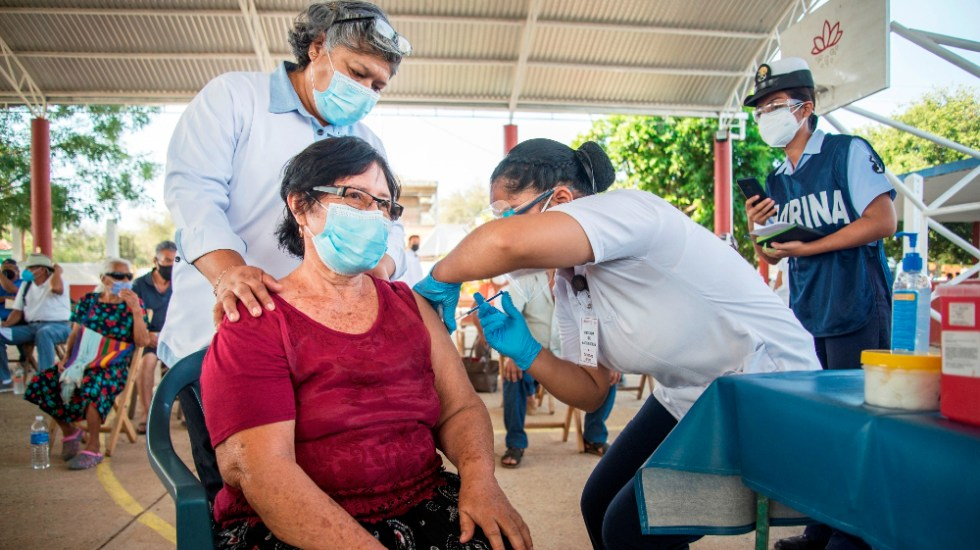 Menos del 20% de latinoamericanos tiene esquema completo de vacunación anticovid: OPS - vacunación Covid Oaxaca México vacunados OPS