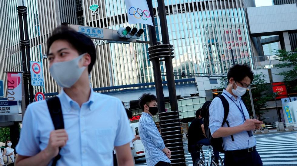 Tokio registra pico de nuevos casos a dos días de los Juegos Olímpicos - Vida diaria en Tokio previo a Juegos Olímpicos. Foto de EFE
