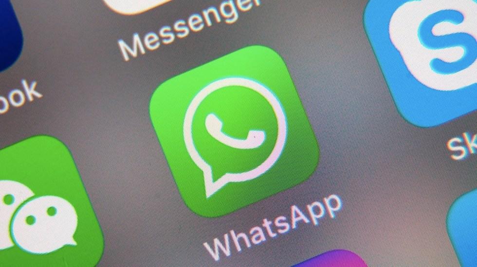 WhatsApp ya permite unirse a videollamadas cuando ya empezaron - WhatsApp ya permite unirse a videollamadas cuando ya empezaron. Foto de EFE