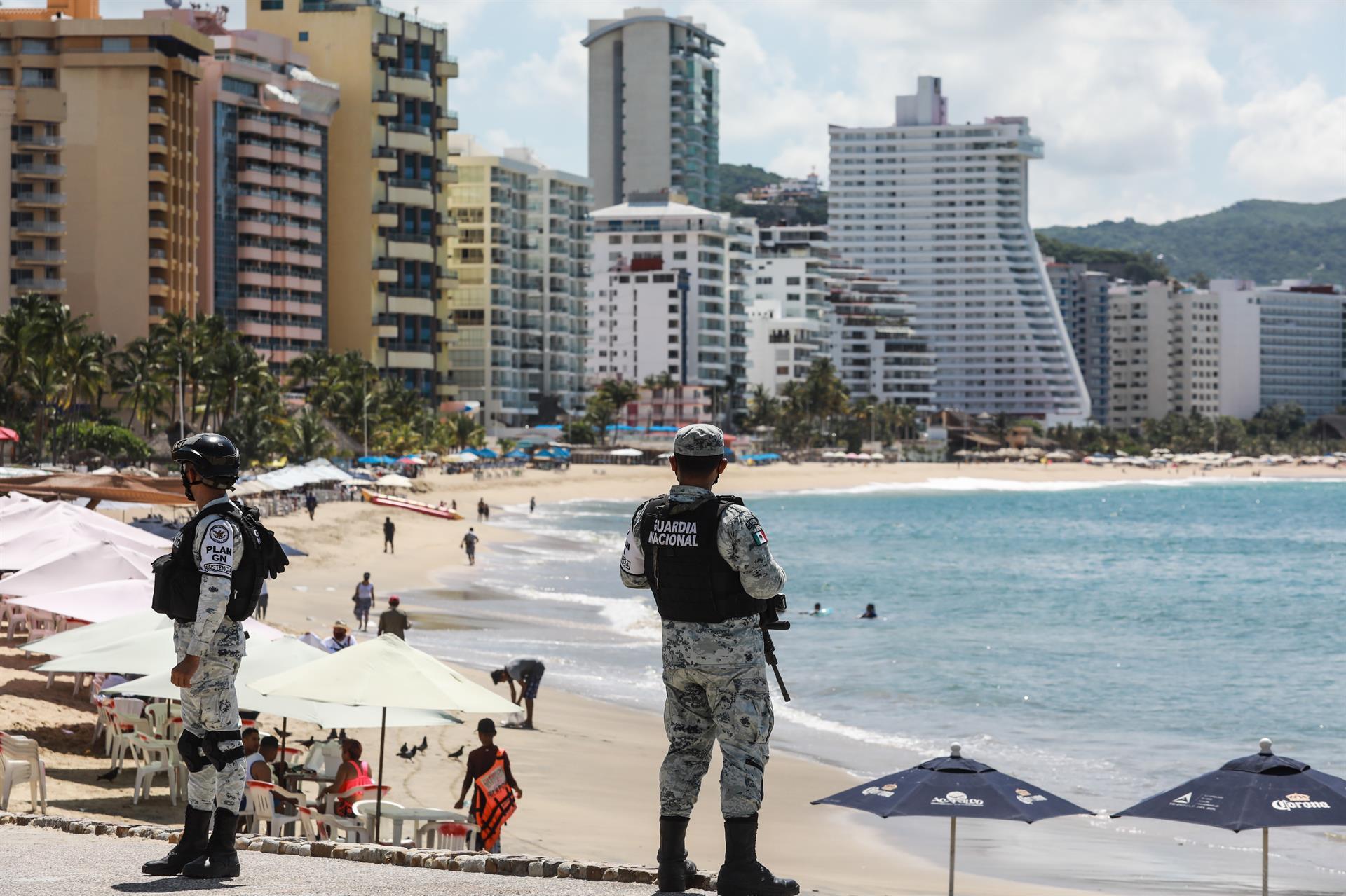 militares en Acapulco
