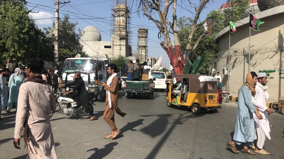 Talibanes asedian Kabul, a la espera de una transición de poder pacífica - Aspectos de Kabul, Afganistán