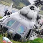 Helicóptero de la Marina se accidenta en Hidalgo; secretario de Gobierno de Veracruz resulta herido