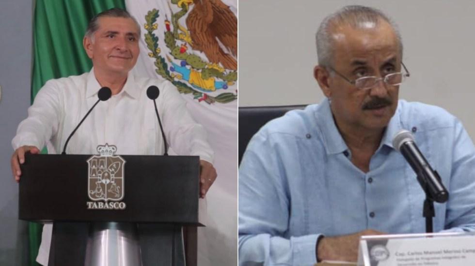 Congreso local aprueba licencia a Adán Augusto López; Carlos Merino protesta como gobernador de Tabasco - Adán Augusto López Tabasco gobernador