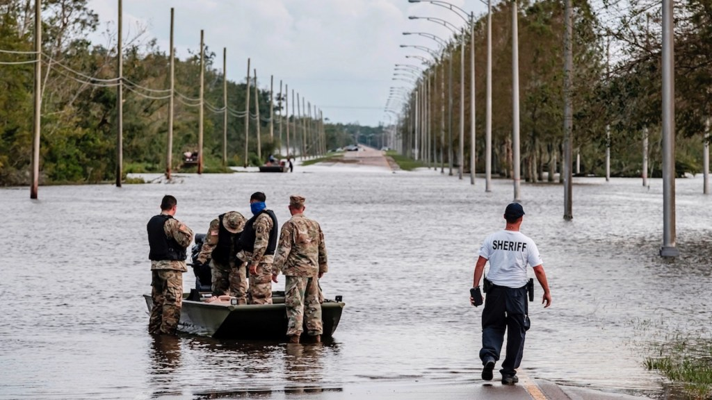 Louisiana reporta segunda muerte por el paso del huracán Ida - Luisiana reporta segunda muerte por el paso del huracán Ida. Foto de EFE