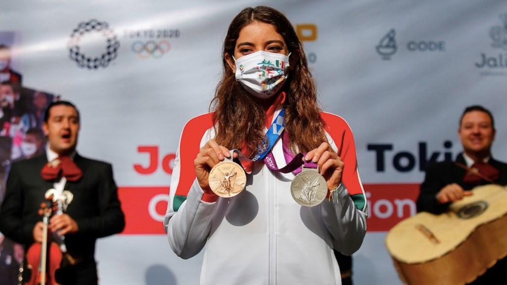 Alejandra Orozco niega fracaso de México en Tokio 2020. Foto de EFE