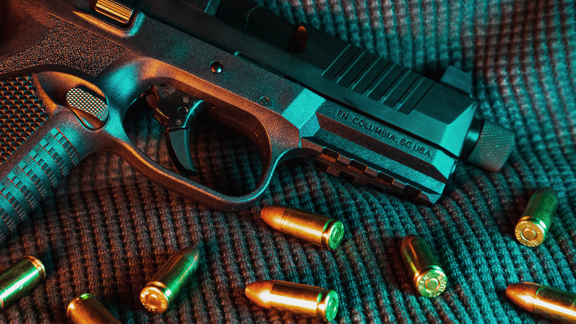 sujeto balazos balas arma