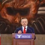 """Zaldívar no buscará ampliación de mandato en SCJN; """"Concluiré mi mandato el 31 de diciembre de 2022"""", afirma"""