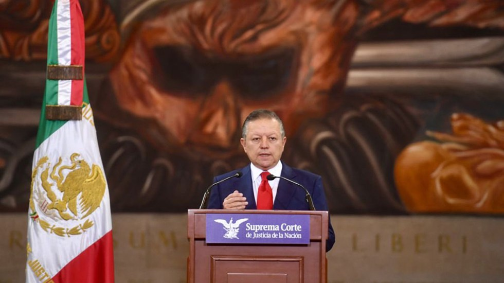 """Zaldívar no buscará ampliación de mandato en SCJN; """"Concluiré mi mandato el 31 de diciembre de 2022"""", afirma - Arturo Zaldívar, ministro presidente de la Suprema Corte"""
