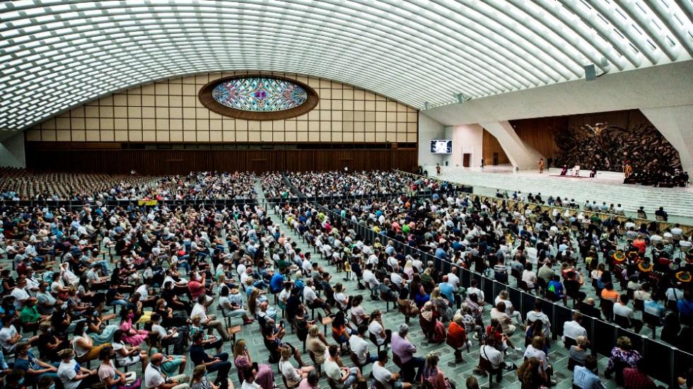 Vaticano no pide pasaporte sanitario a asistentes a audiencia del papa - Audiencia general Papa Francisco 2 Vaticano