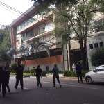 #Video Explosión en edificio sobre Avenida Coyoacán deja al menos 22 lesionados