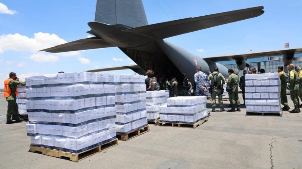 México ha enviado 15.4 toneladas de ayuda a Haití tras terremoto - Ayuda México Haití