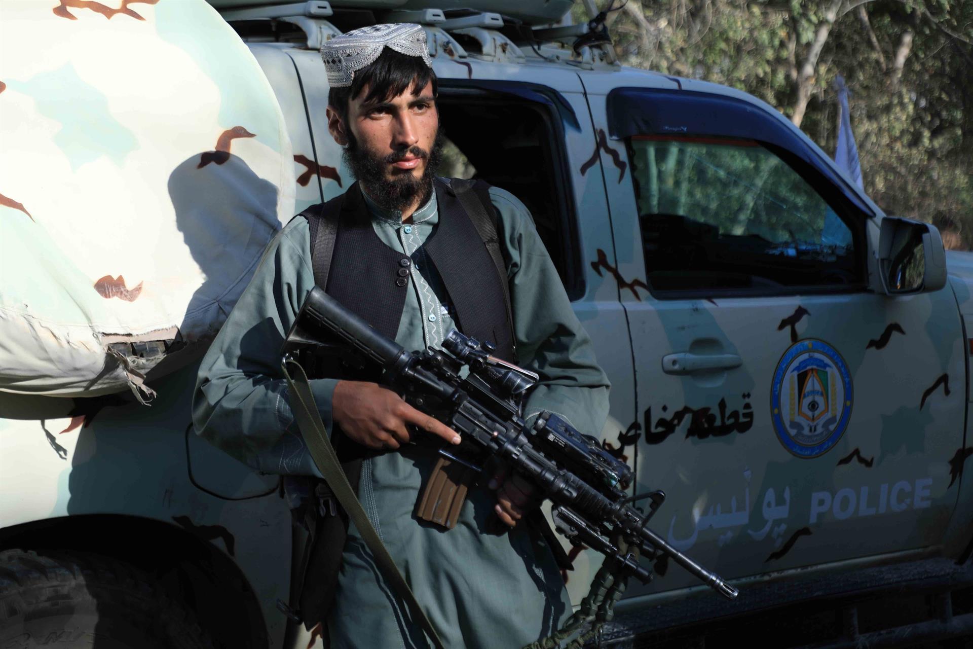 talibanes en kabul en Afganistán