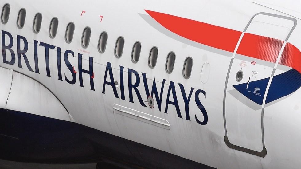 British Airways cancela vuelos a Cancún por alza en casos de COVID-19 - British Airways cancela vuelos a Cancún por alza en casos de COVID-19. Foto de EFE