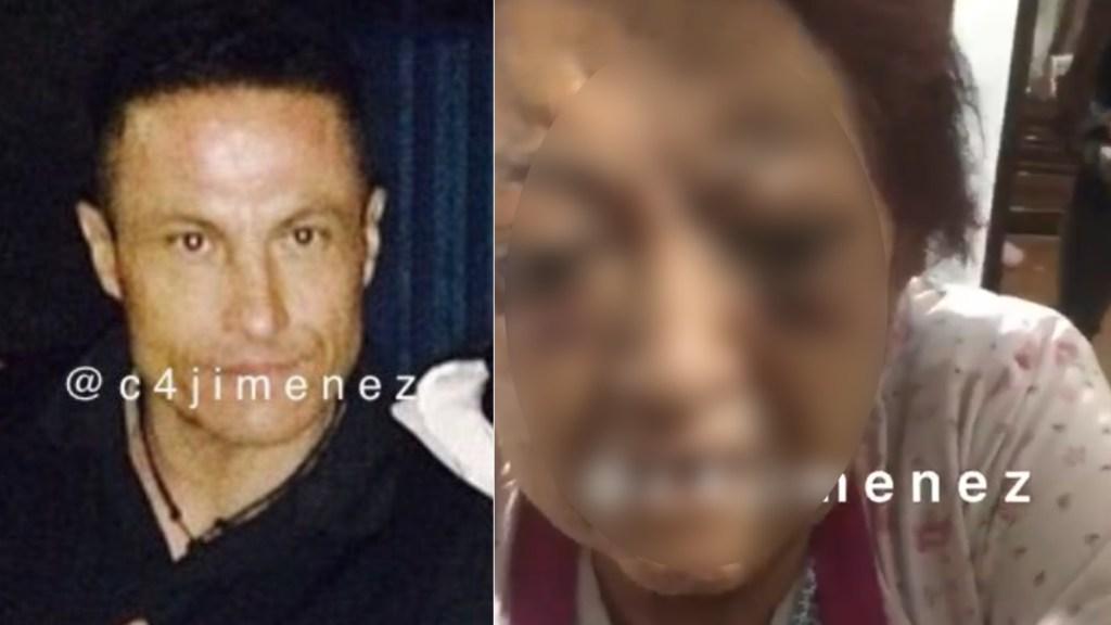 Fiscalía capitalina resguarda a Celia, adulta mayor golpeada por su hijo en la GAM - Celia agresión mujer de la tercera edad