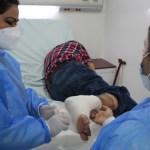Cirujanos salvan pierna de hombre con quemadura de tercer grado
