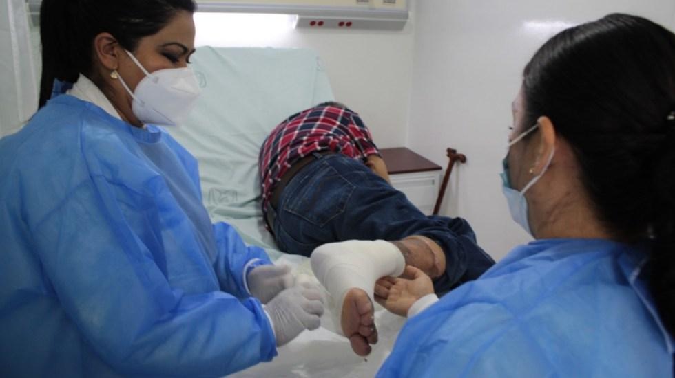 Cirujanos salvan pierna de hombre con quemadura de tercer grado - Cirujanos pierna hombre IMSS