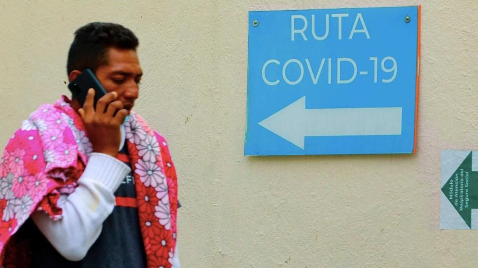 México registró en las últimas 24 horas 3 mil 367 casos y 262 muertes por COVID-19 - Mexicanos reviven miedos por tercera ola de COVID-19 y pese a vacunación. Foto de EFE