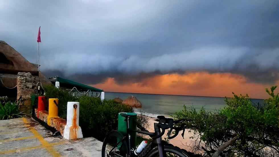 Quintana Roo se prepara para la llegada del huracán Grace - Cozumel previo a la llegada del huracán Grace