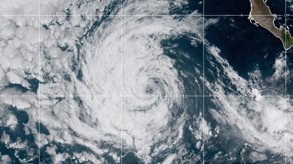 Marty se degrada a depresión tropical lejos de costas del Pacífico mexicano - Depresión tropical Marty