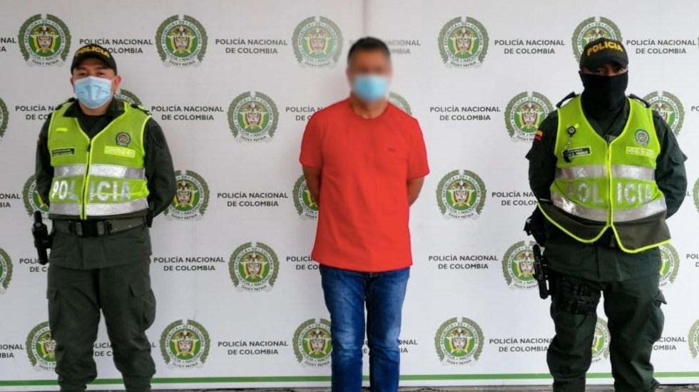 Colombia captura a presunto operador del Cártel de Sinaloa y CJNG - Colombia captura a presunto operador del Cártel de Sinaloa y CJNG. Foto de Policía Nacional de Colombia