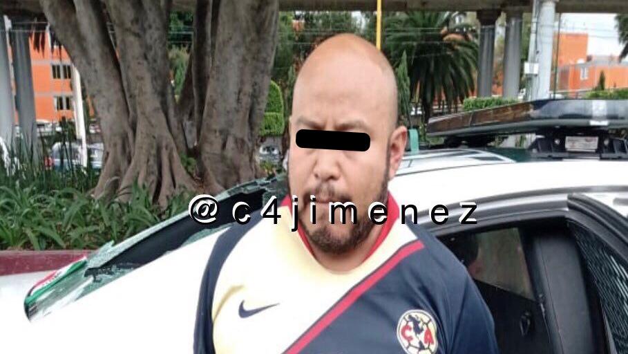 Detienen en La Merced a presunto extorsionador de La Unión Tepito - Detención de presunto extorsionador en La Merced