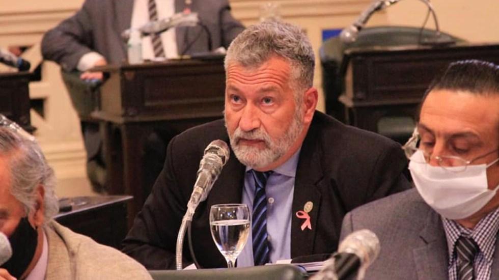 Disparan contra diputado argentino durante cierre de campaña - Diputado Miguel Arias