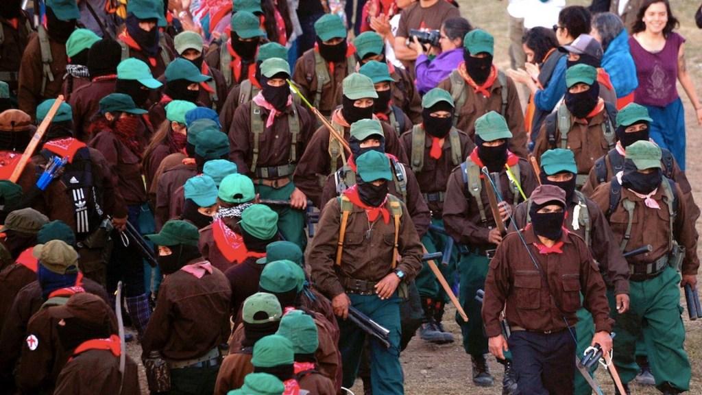 Delegación zapatista saldrá rumbo a Europa en septiembre - Delegación zapatista saldrá rumbo a Europa en septiembre. Foto de EFE