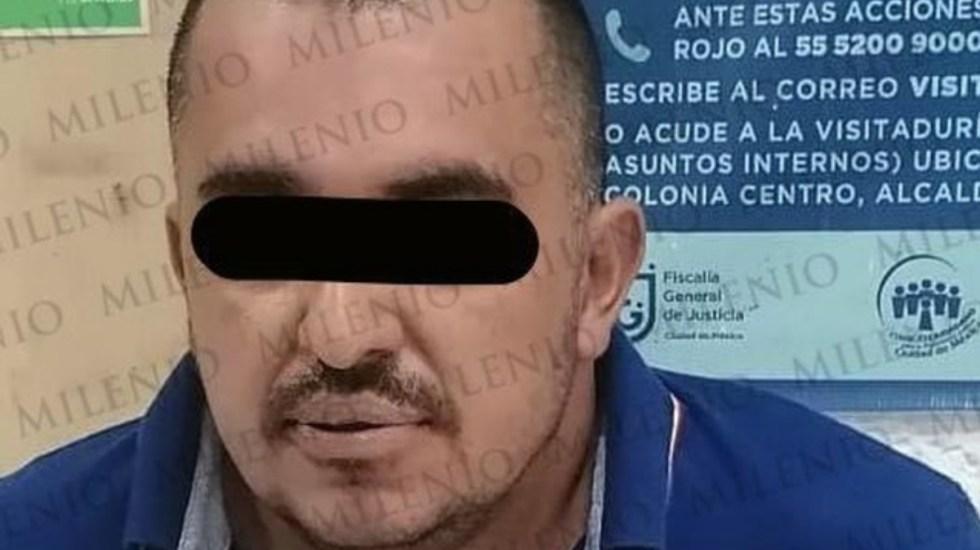 """Detienen en CDMX a 'El Vani', integrante de La Familia Michoacana - Jhovanny """"N"""", alias 'El Vani', uno de los líderes de la Familia Michoacana."""