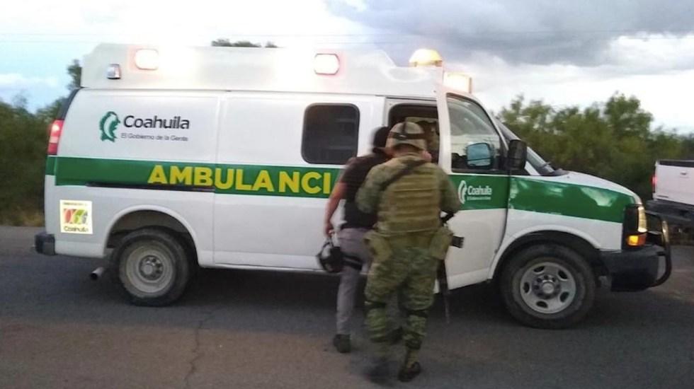 Enfrentamiento con civiles armados deja tres policías heridos en Coahuila - Enfrentamiento con civiles armados deja tres policías heridos en Coahuila. Foto de El Siglo de Torreón