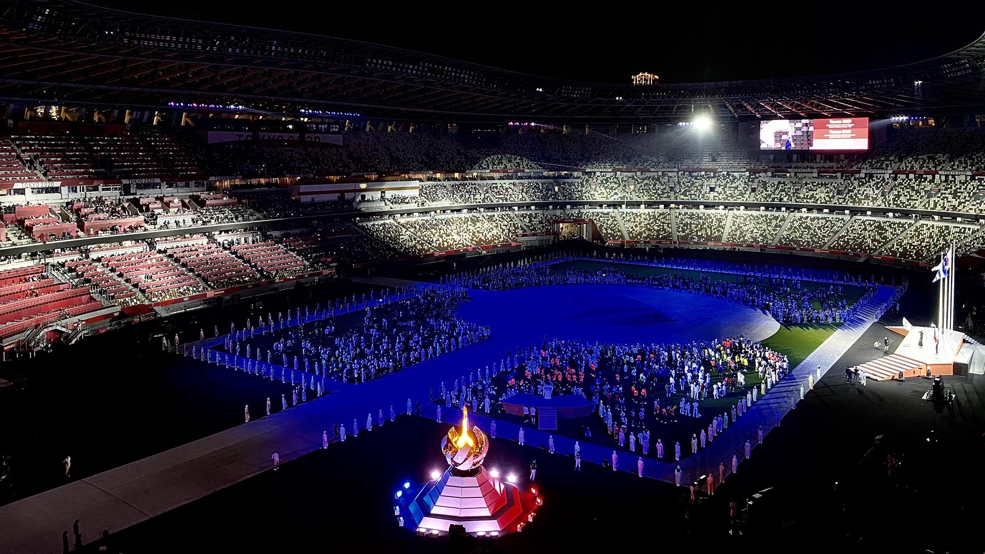 #Fotos Clausuran los Juegos Olímpico de Tokio 2020