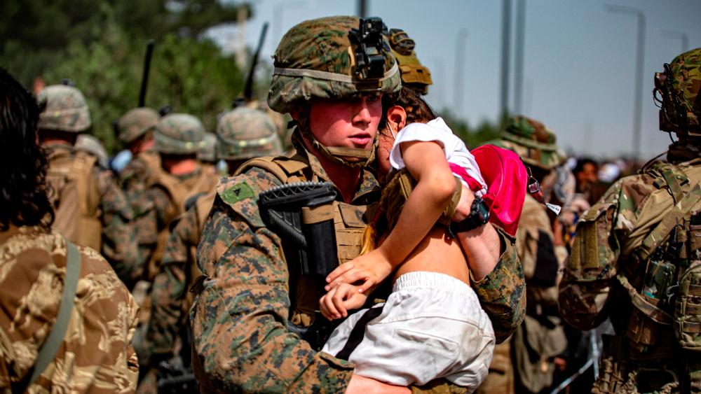 Estados Unidos EEUU Afganistán evacuación