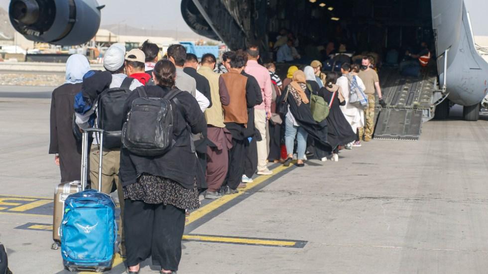 Alemania recibirá aviones de EE.UU. con evacuados procedentes de Afganistán - evacuados Afganistán EEUU aviones